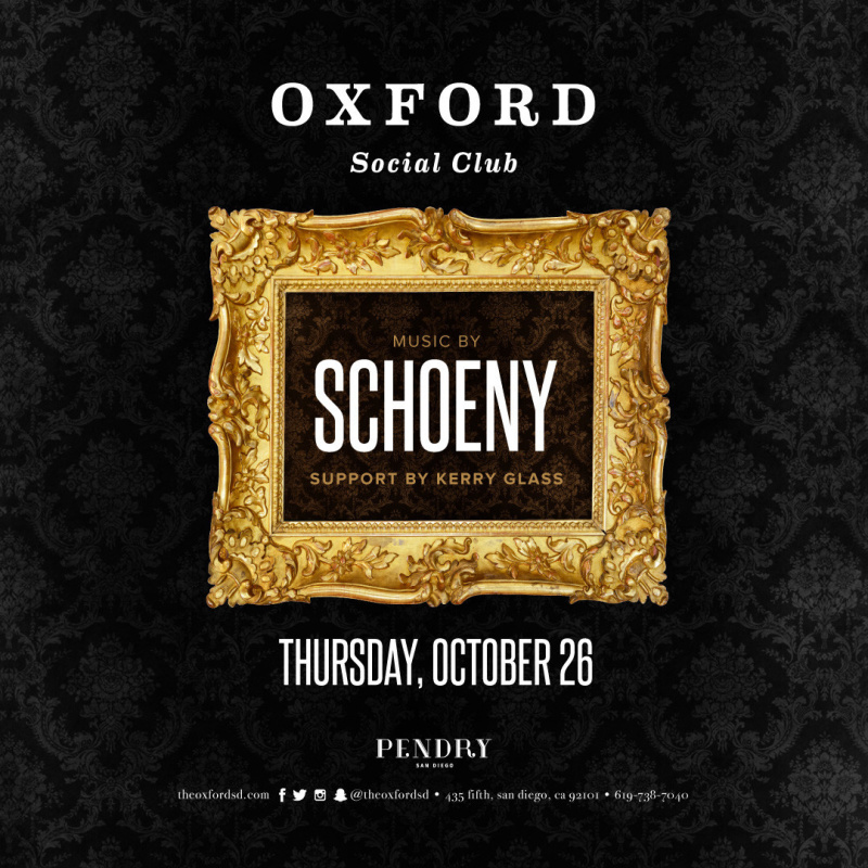 Schoeny – Oxford Social Club October 26, 2017