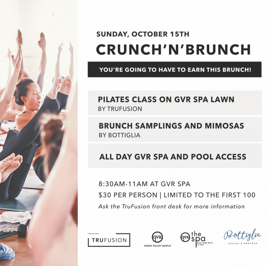 Crunch 'n' Brunch Special Event!