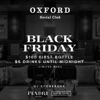 Join Us at Oxford Social Club for Our Black Friday Event!