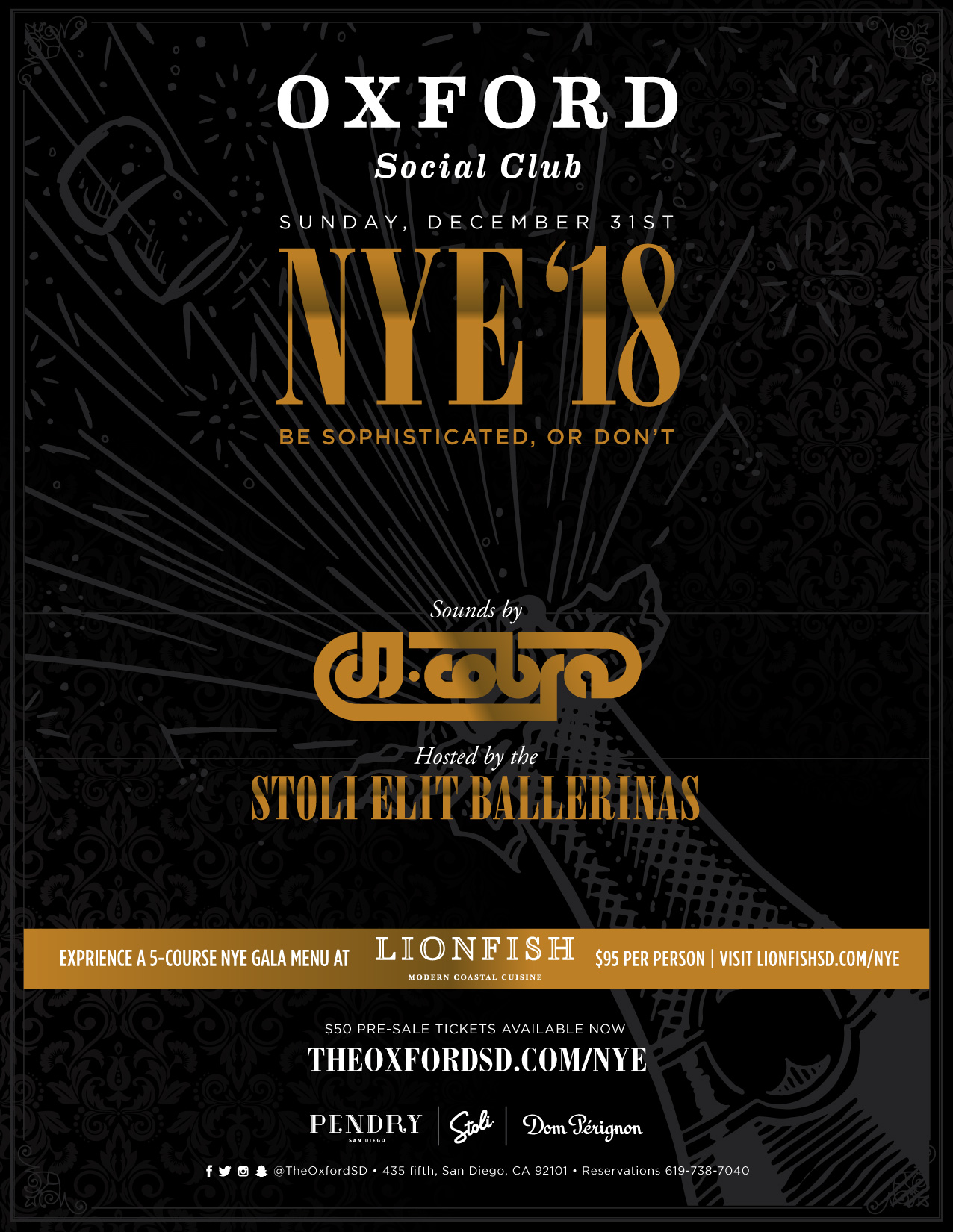 Oxford Social Club NYE