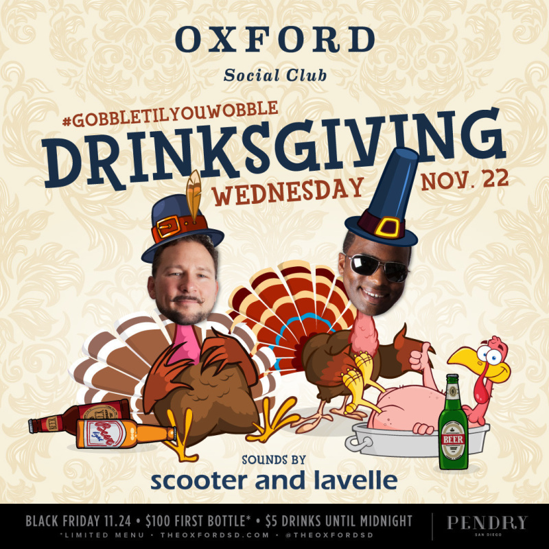 Scooter & Lavelle – Oxford Social Club November 22, 2017