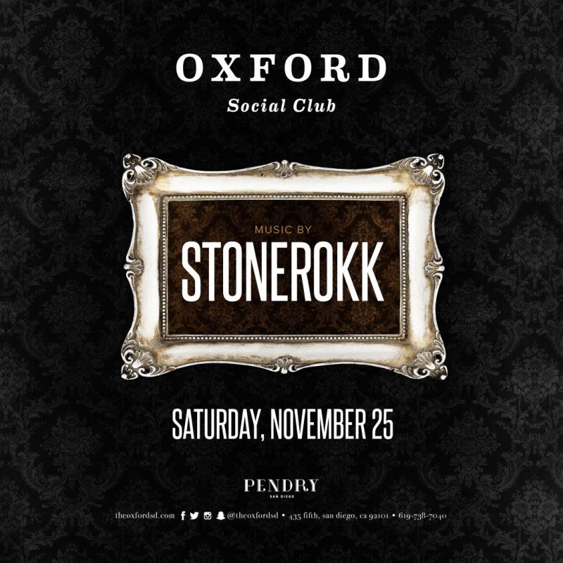 Stonerokk – Oxford Social Club San Diego November 25, 2017