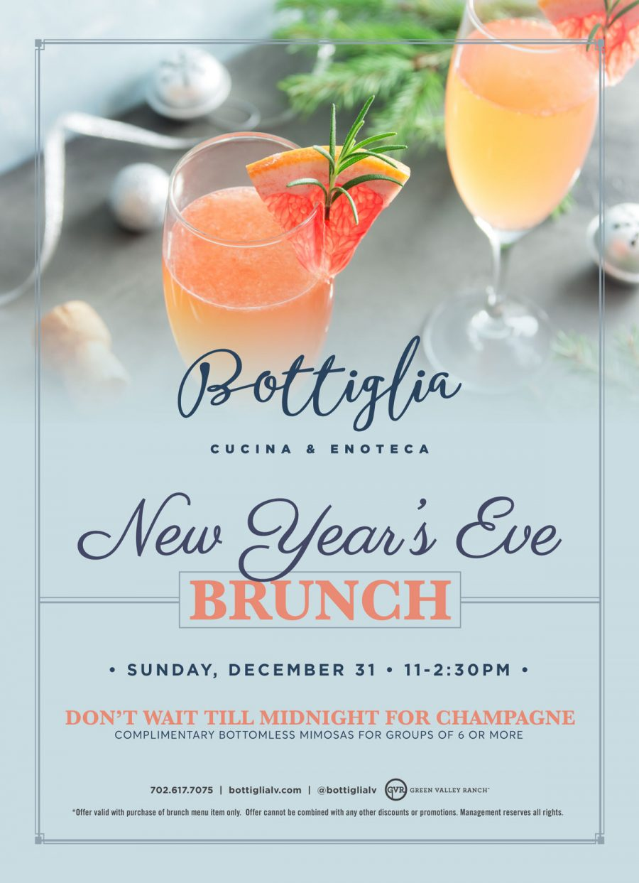 10 Reasons Why New Year's Eve Brunch is Essential