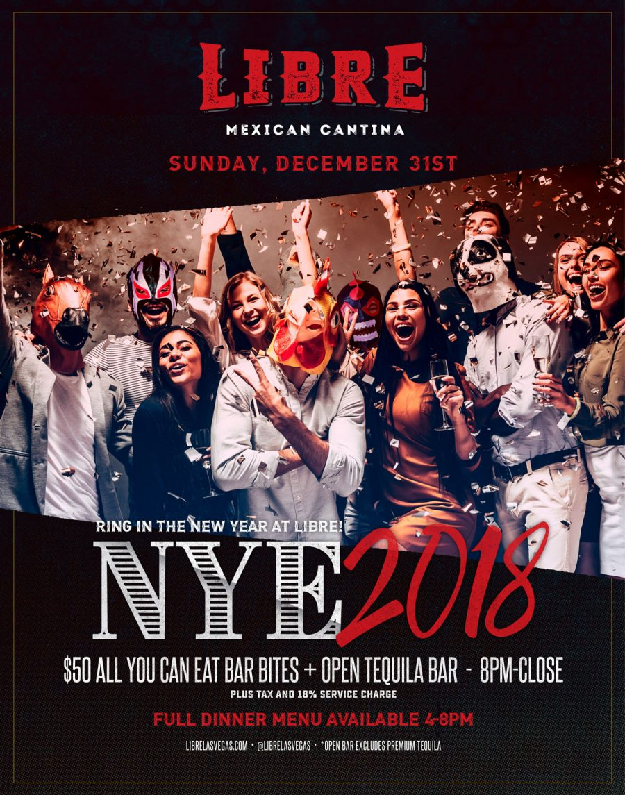 Come Celebrate New Year's Eve in Summerlin at Libre