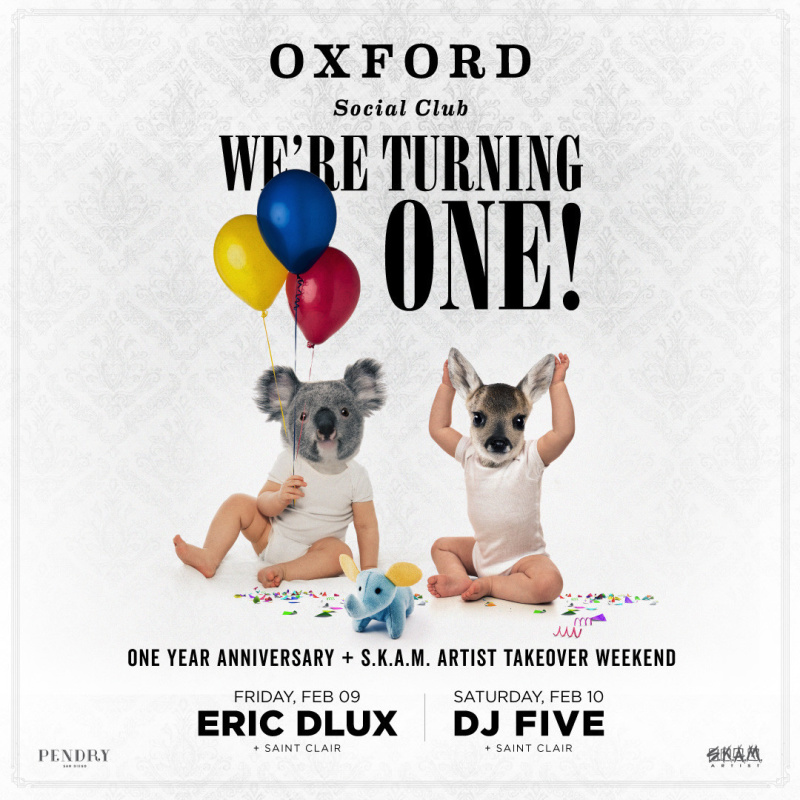 Oxford Social Club's First Birthday Party!