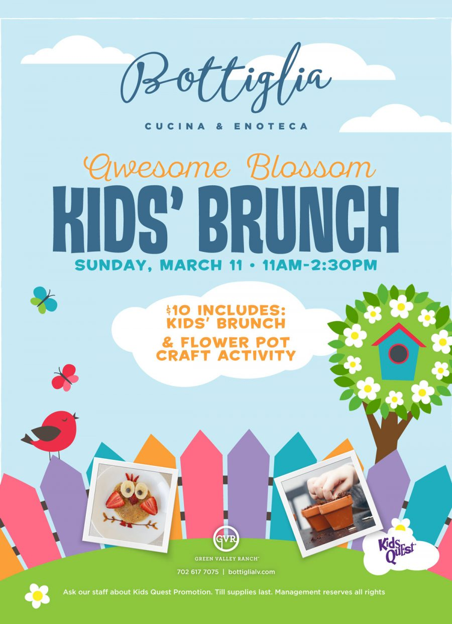 Awesome Blossom Kids' Spring Brunch