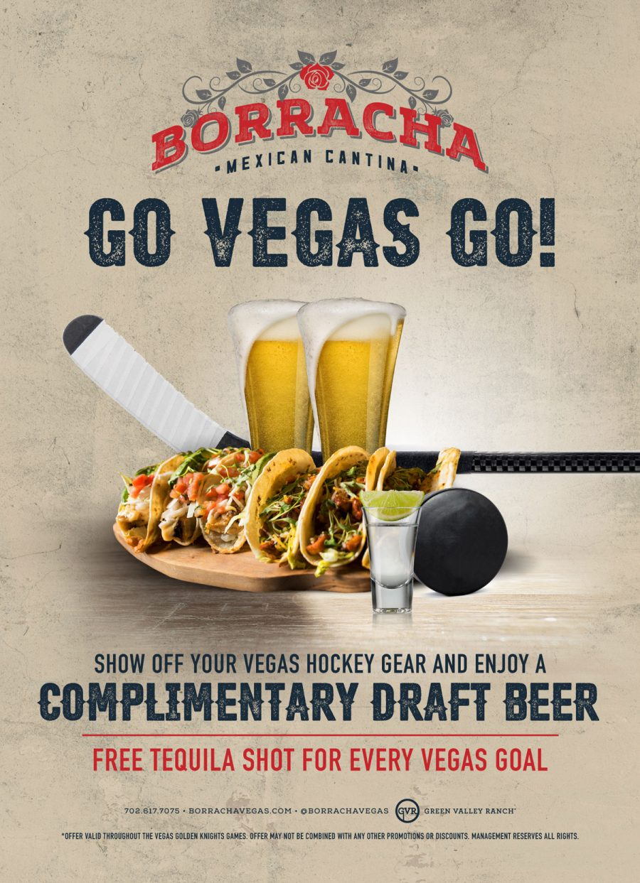 Show Off Your Vegas Golden Knights Gear and Get a Free Beer on Borracha
