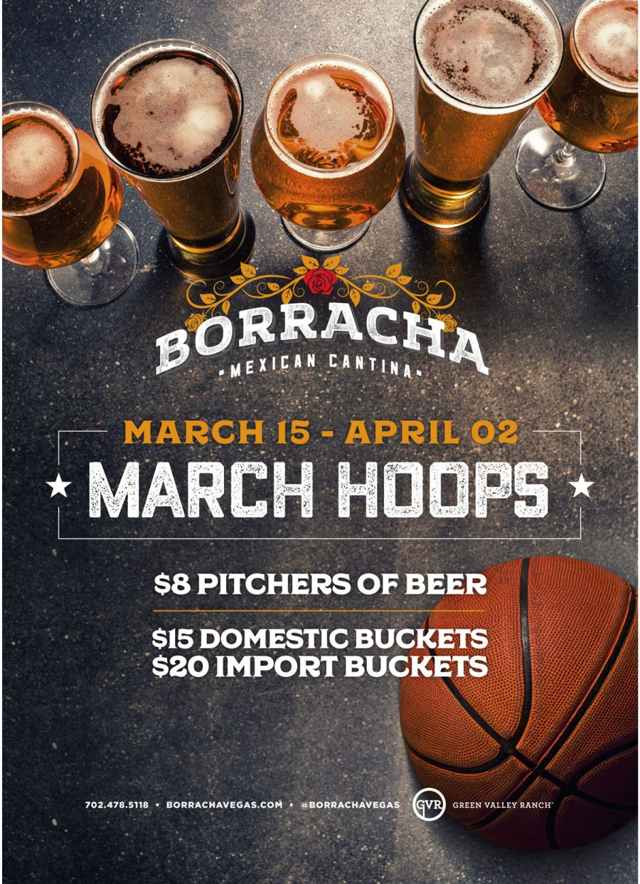 Get in on All of the March College Basketball at Borracha Mexican Cantina