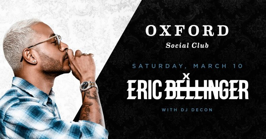 Singer Songwriter Eric Bellinger joins us for a special LIVE performance at Oxford Social Club
