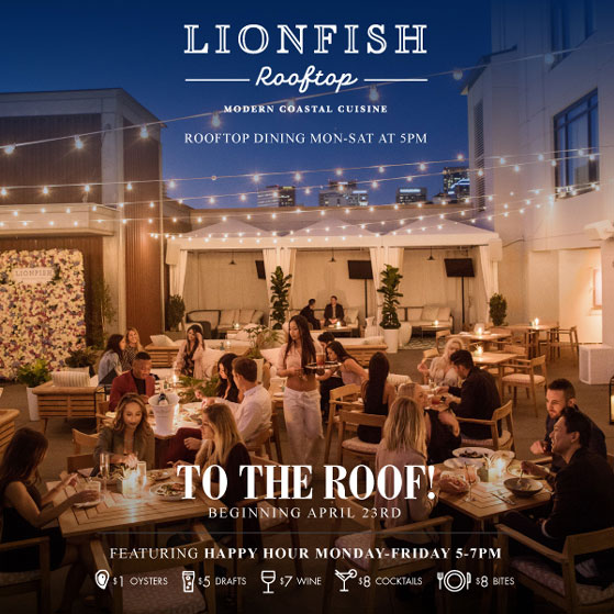 Come See the Lionfish Rooftop