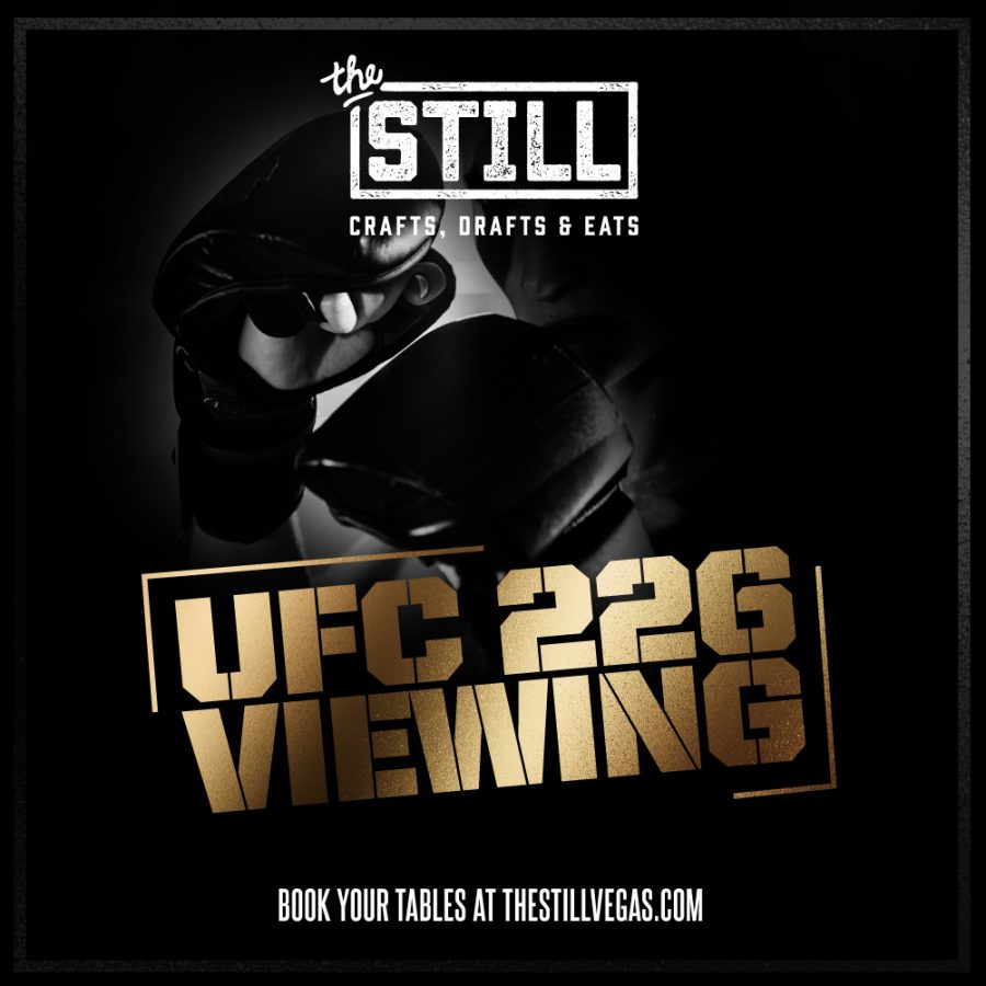 UFC 226 – July 7