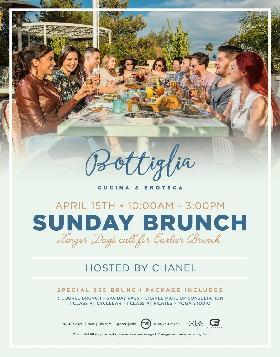 Come Join Bottiglia for Our New Beauty Brunch