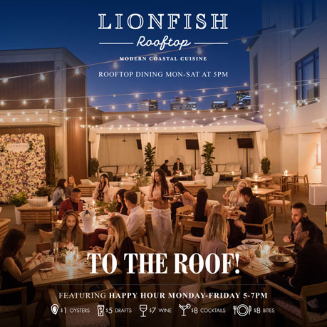 Lionfish Rooftop Lionfish San Diego