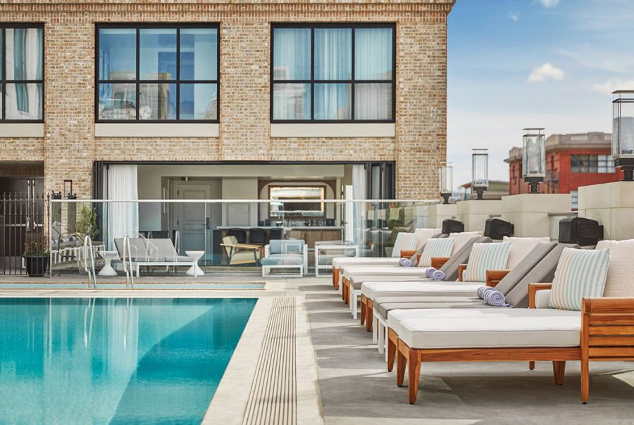 Spend Your Weekend Poolside at The Pool House