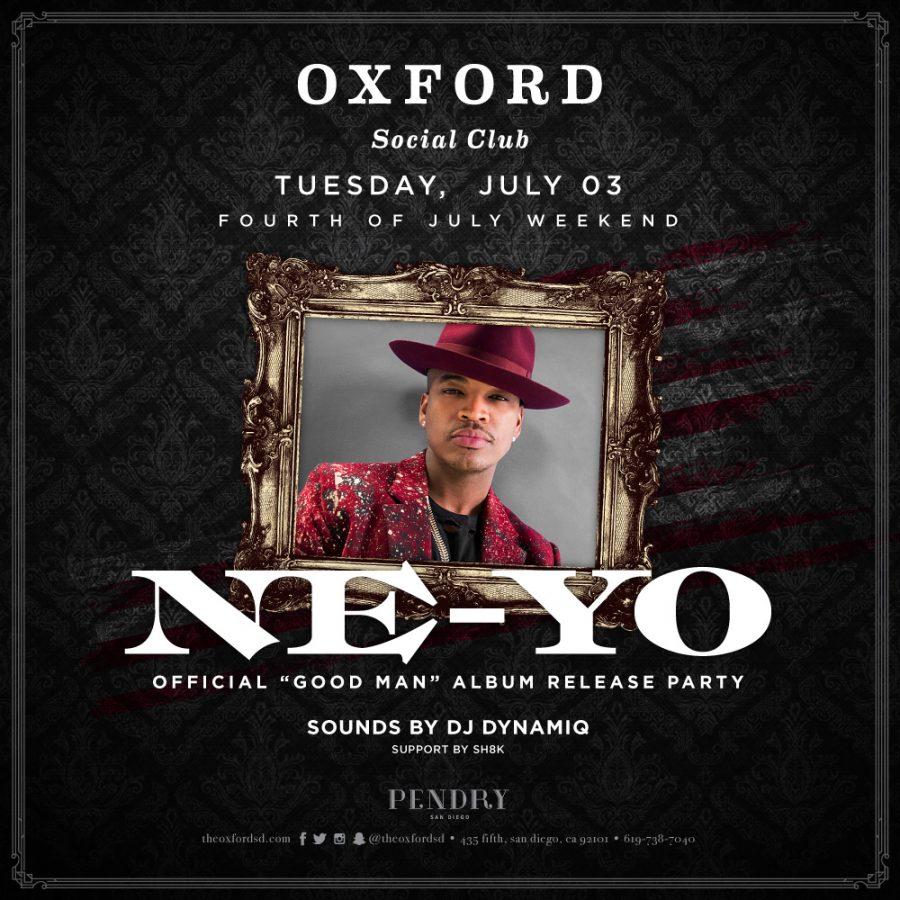 NE-YO Performs Live 4th of July Weekend at Oxford Social Club