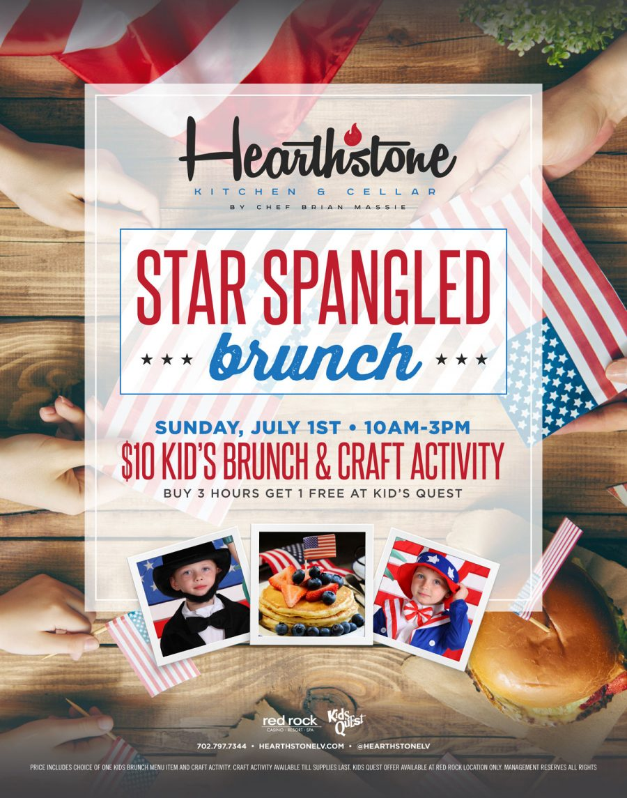 Come Celebrate 4th of July With the Kids At Our Star Spangled Brunch