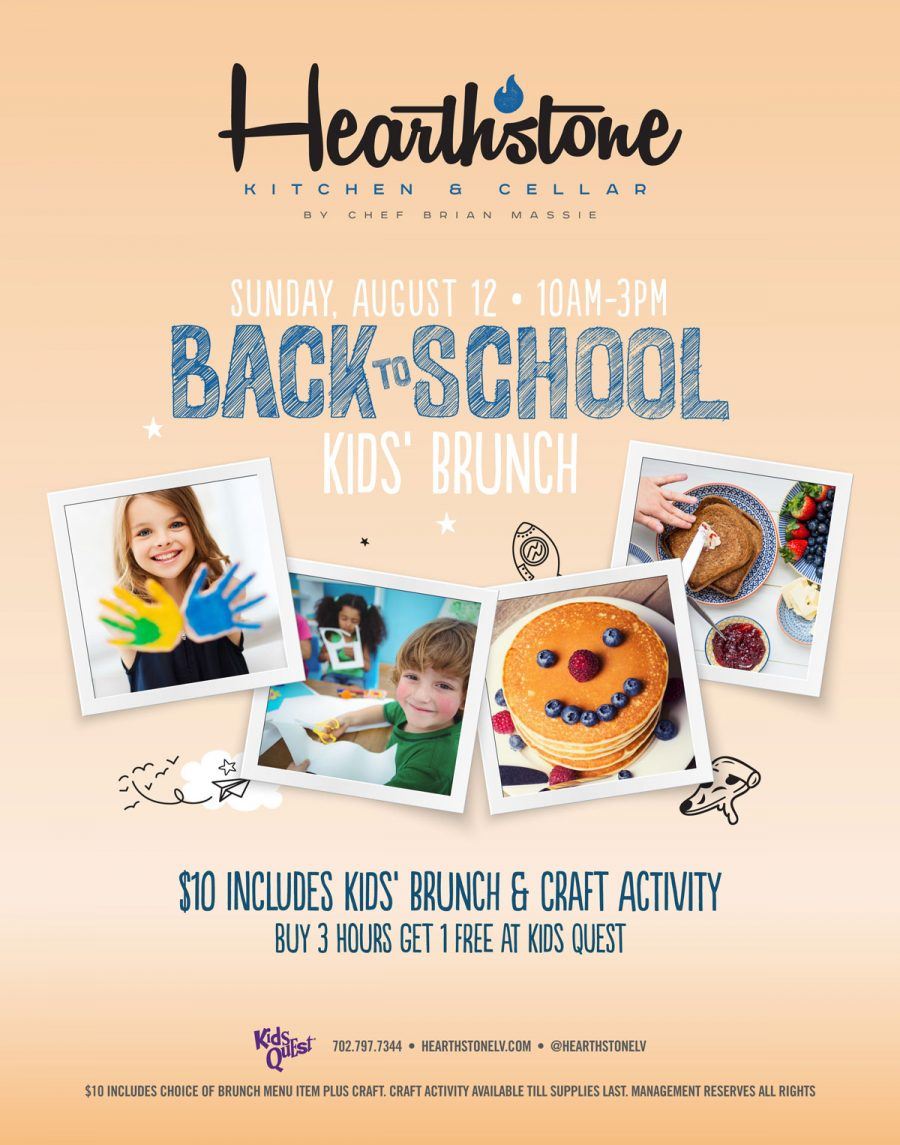 Come Join Hearthstone for Our Back to School Brunch!