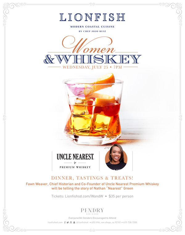 Women & Whiskey Featuring Uncle Nearest Whiskey