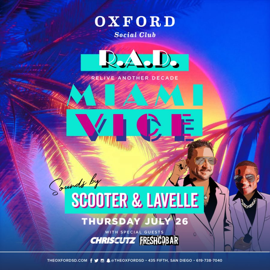 Party at Oxford – Miami Vice Style!