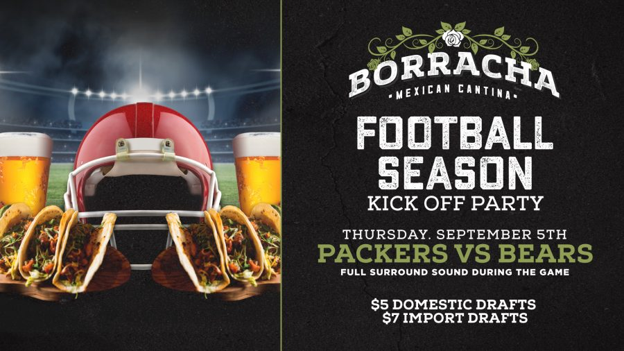 Football Season is Almost Here and Borracha is Ready to Play!