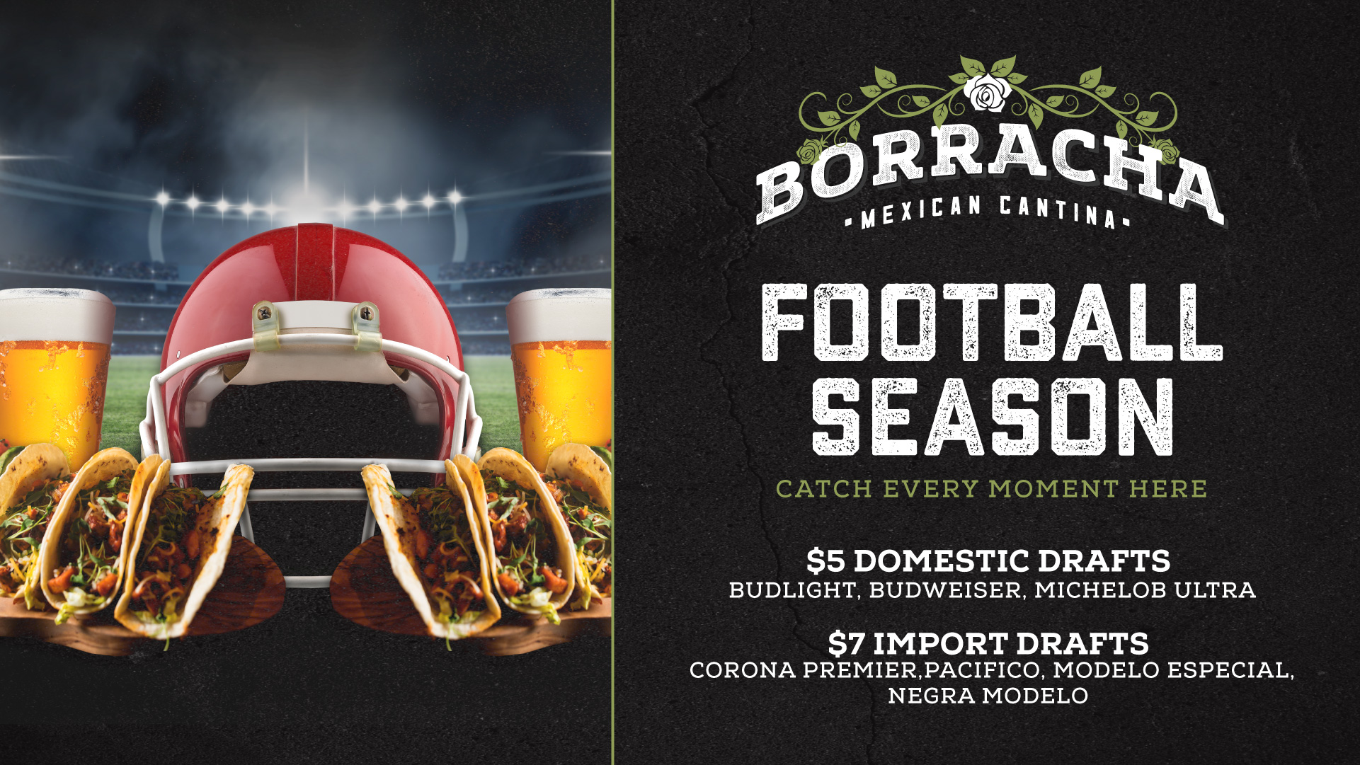 football season at borracha