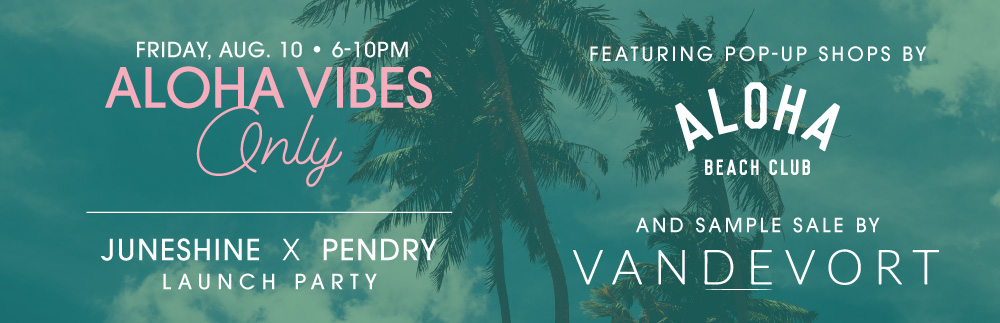 JUNESHINE x PENDRY Launch Party—What JuneShine is Your new Summer Poolside Staple