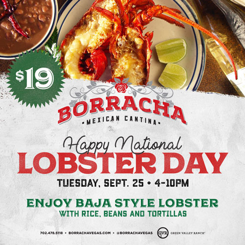 National Lobster Day at Borracha