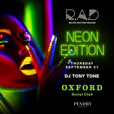 RAD is Coming Back to Oxford Social Club and It Is Going to Be Brighter Than Ever
