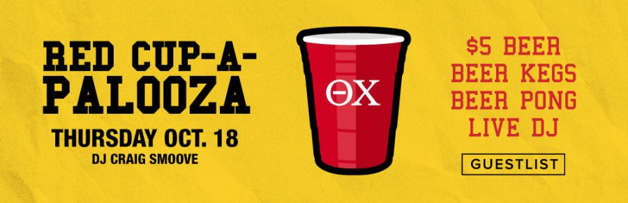 Red Cup-a-Palooza at Oxford!