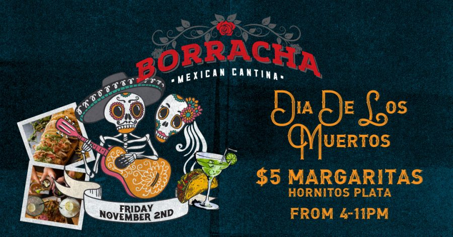 Celebrate Day of the Dead at Borracha