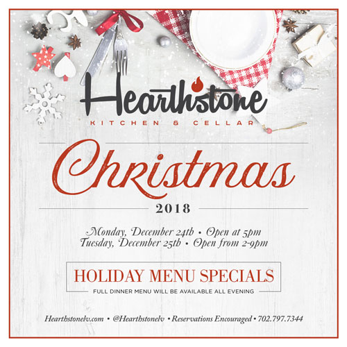 A Summerlin Christmas Dinner at Hearthstone