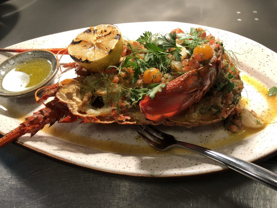 Try Spiny Lobster at Lionfish!
