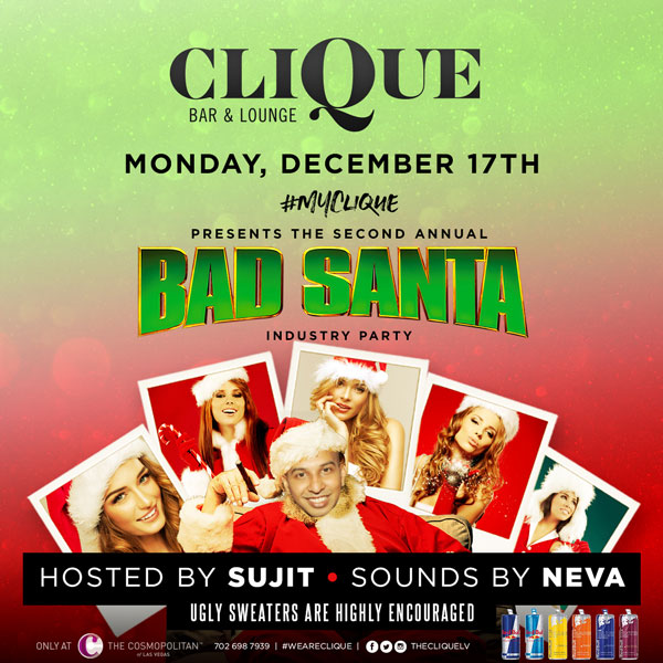 CliQue's Bad Santa Industry Party