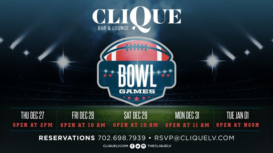 The Biggest Bowl Games Are Playing at CliQue