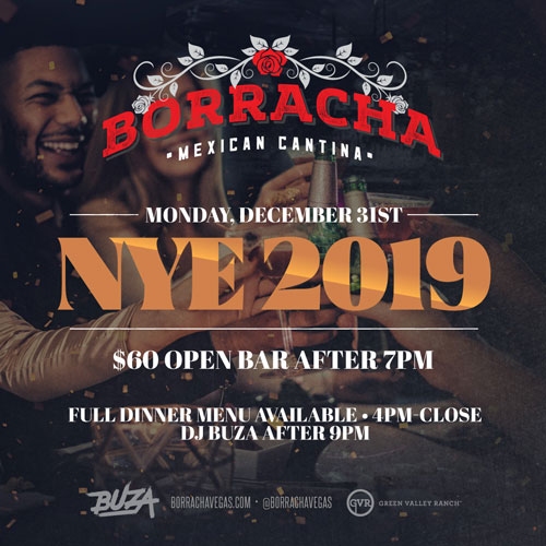 Ring in the New Year in Style at Borracha!