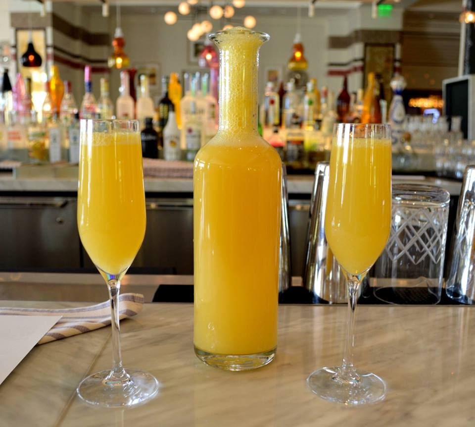 bottomless mimosas at bottiglia cucina enoteca Henderson nevada