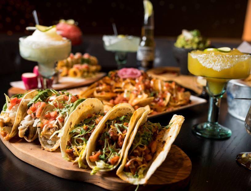 borracha Mexican cantina in green valley ranch serves tacos and margaritas