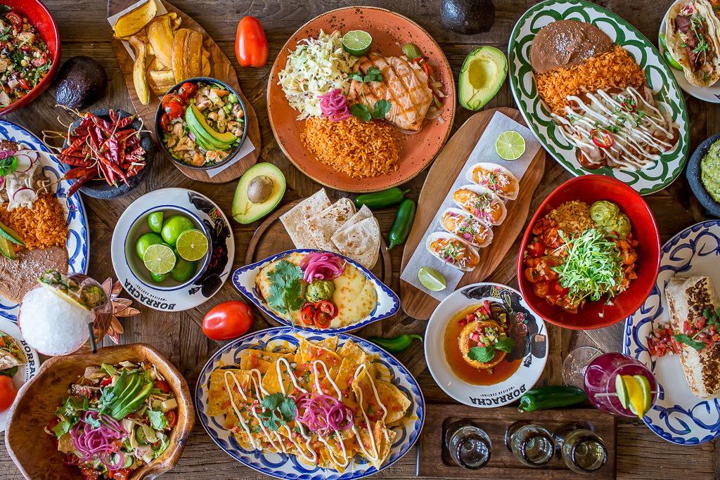 borracha Mexican cantina full menu order