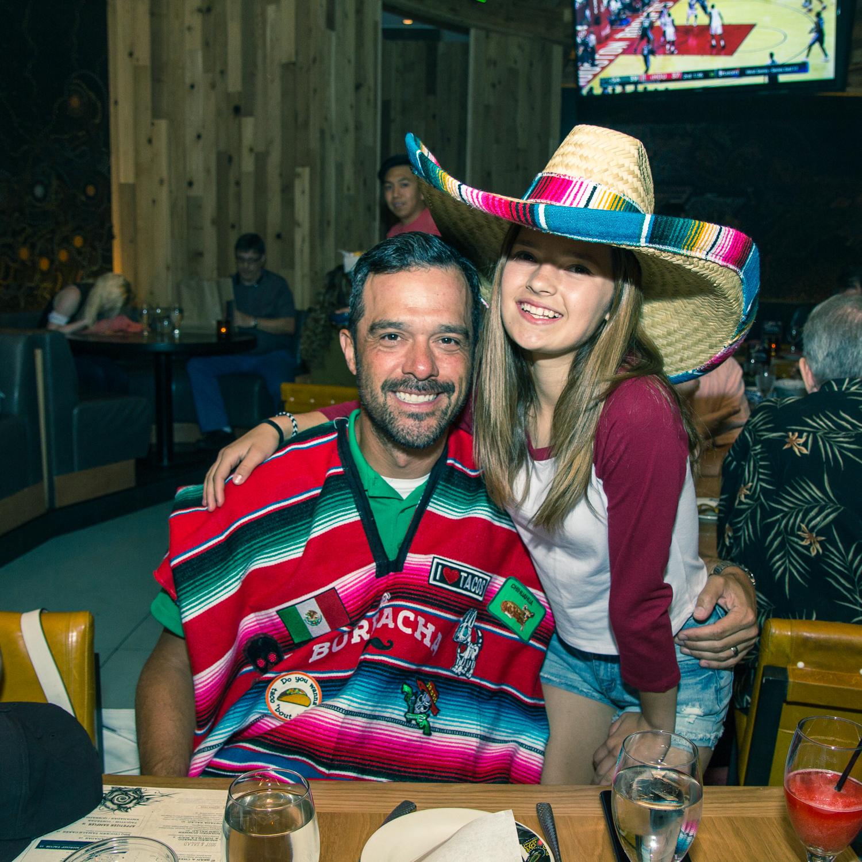 borracha Mexican cantina birthday celebration inside green valley ranch casino in Henderson, nv