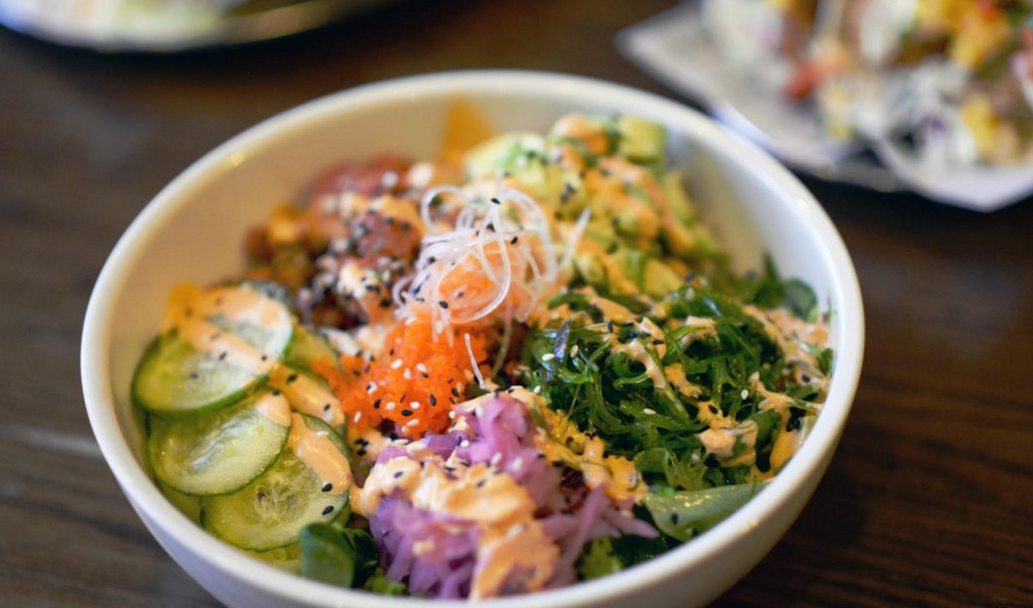 healthy eating options las vegas sports bar