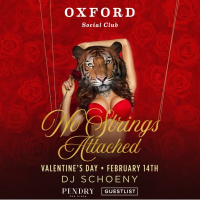 Anti-Valentine's Day in San Diego : Oxford Social Club
