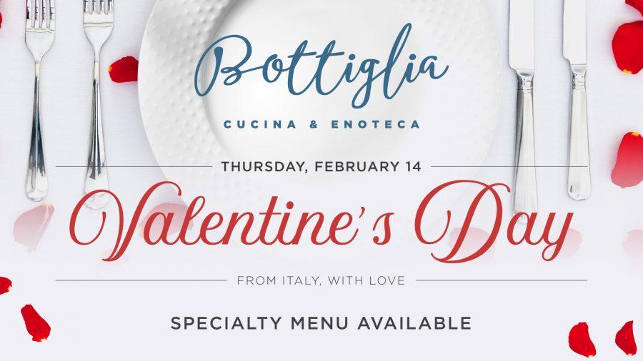Valentine's Day Dinner in Henderson at Bottilglia