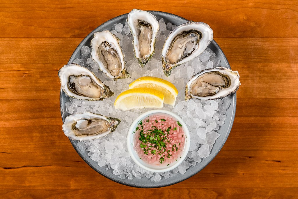 oysters at lionfish