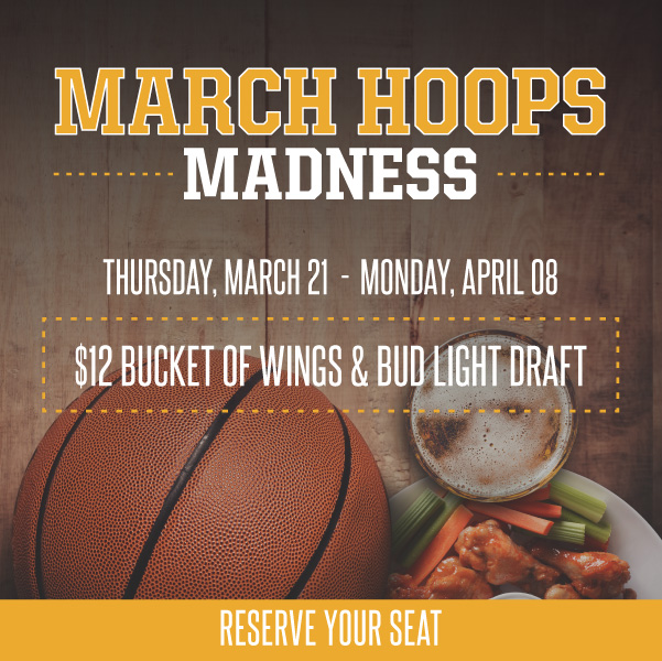 Experience an Amazing March Madness Restaurant Tradition at Hearthstone Kitchen & Cellar