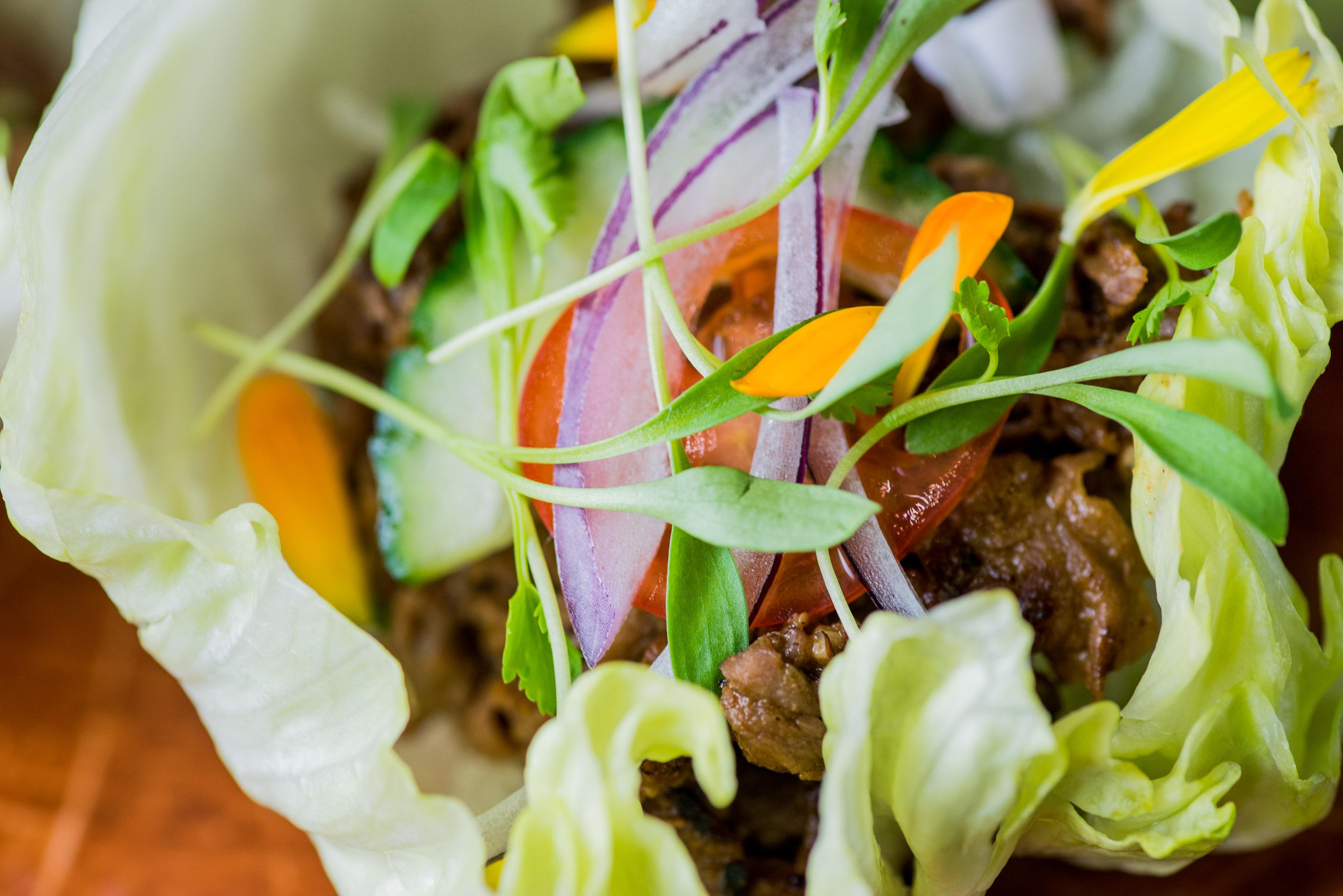 thai lettuce beef - Greene ST Kitchen