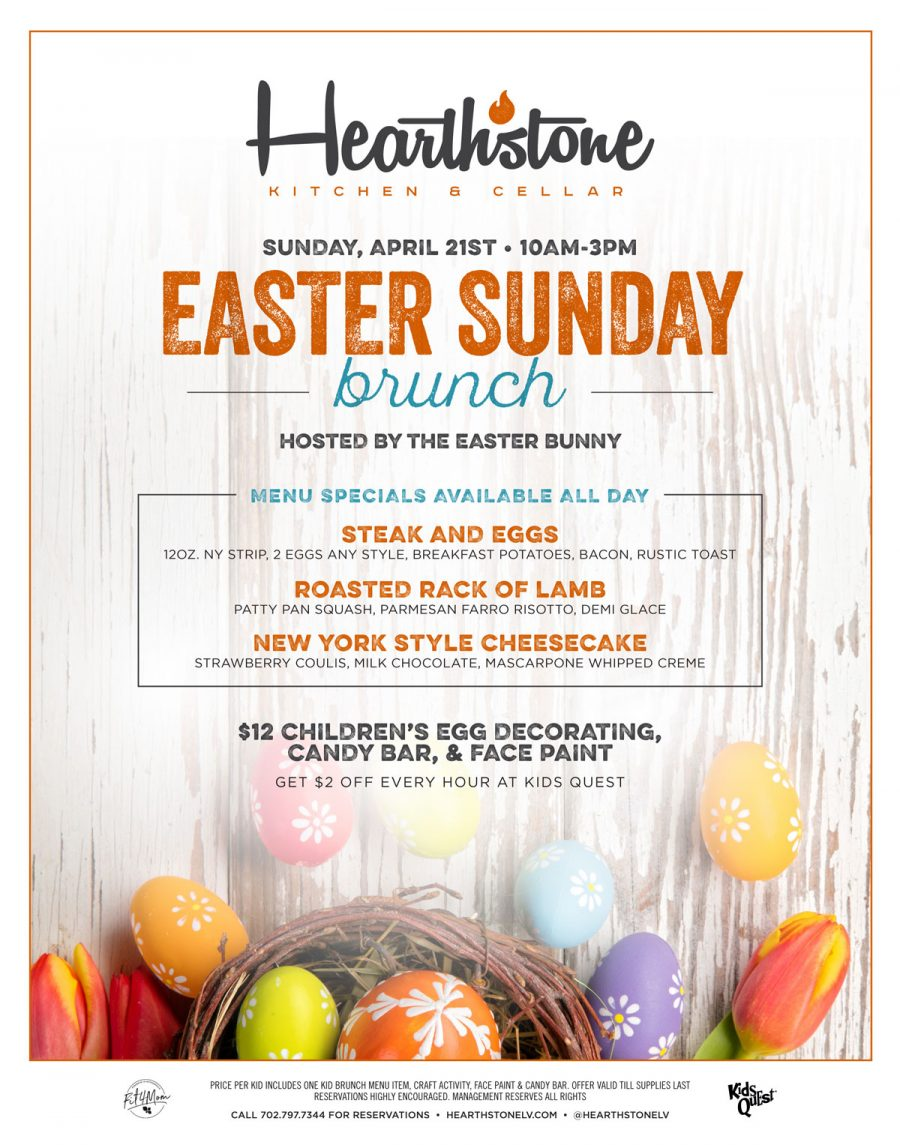 Easter Brunch at Hearthstone
