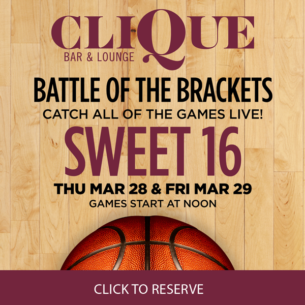 Why Clique Bar & Lounge Is the Place for March Madness 2019 on the Strip