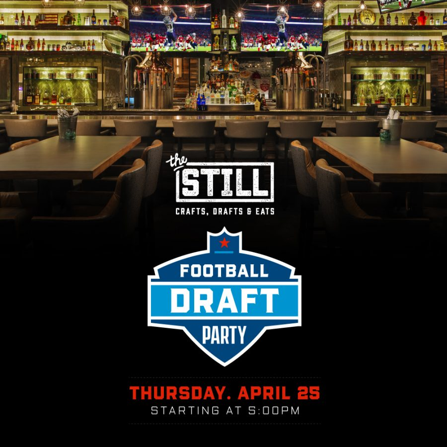 Football Draft Party – April 25