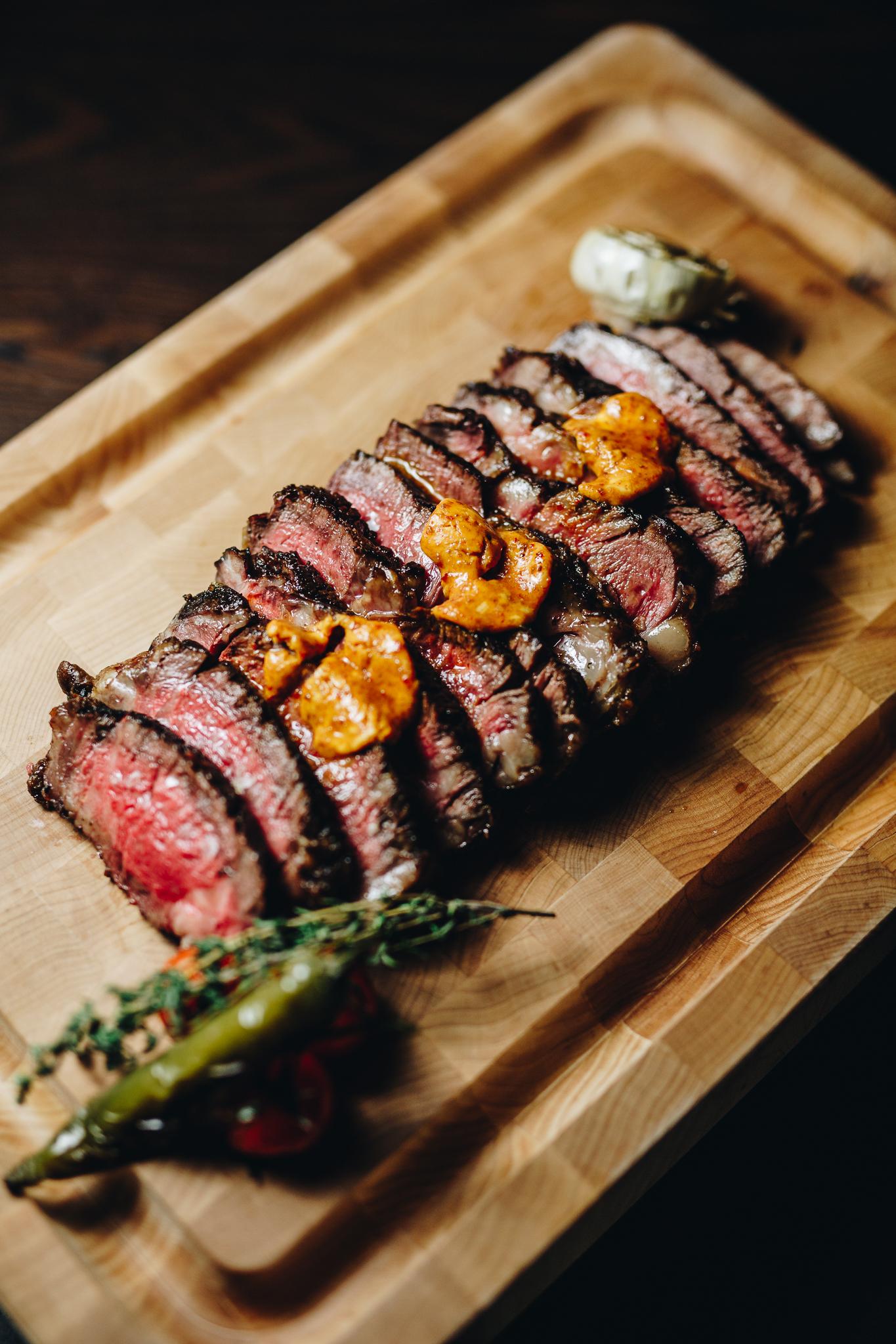 Dry Aged Steak - Bull & Bourbon