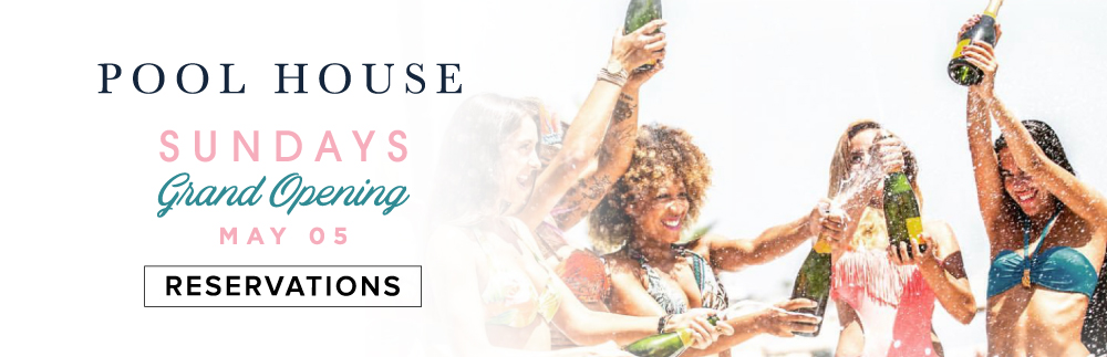 It's That Time of Year Again – Pool House Sundays Are Back!